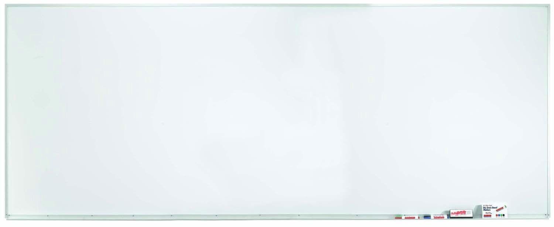 Aluminum Frame Porcelain Magnetic Markerboard - 48