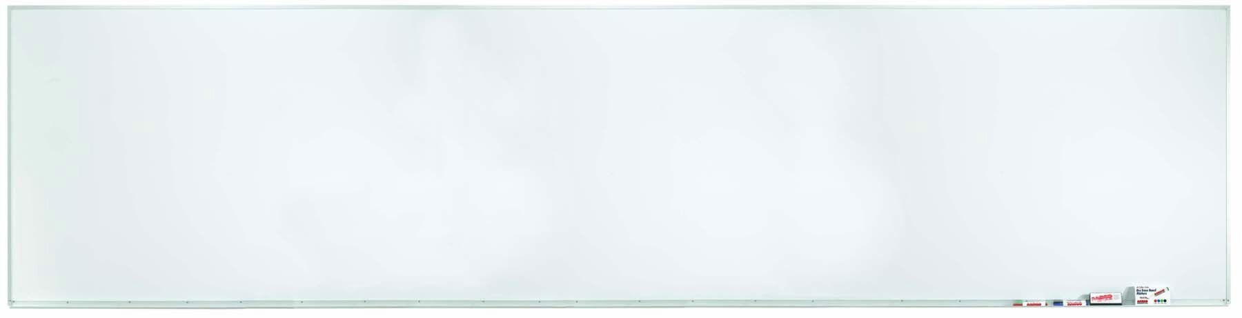 """Aarco Products WDS48192 Aluminum Frame Porcelain Markerboard, 48""""H x 192""""W"""