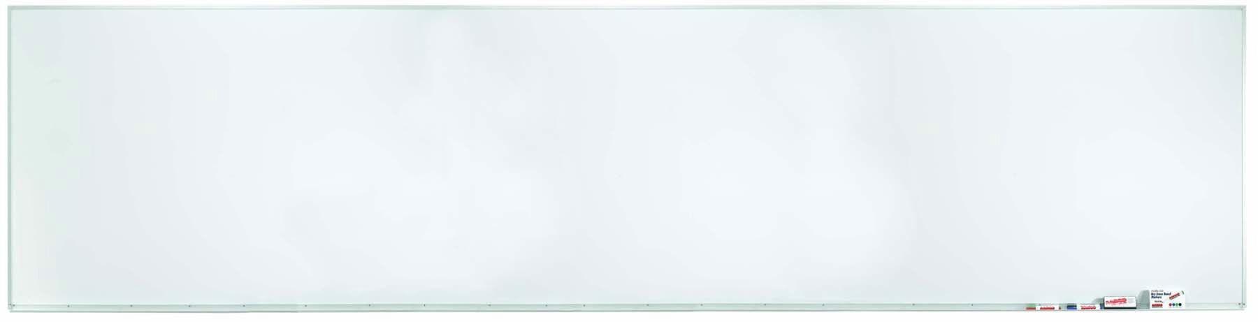 Aluminum Frame Porcelain Markerboard - 48