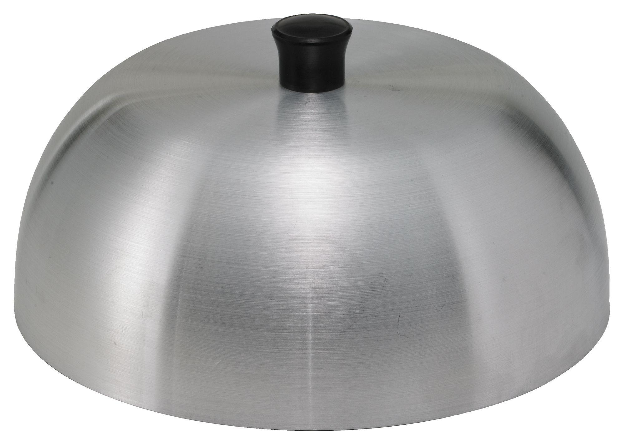 "Winco AHC-6 Aluminum Hamburger Cover, 6"""