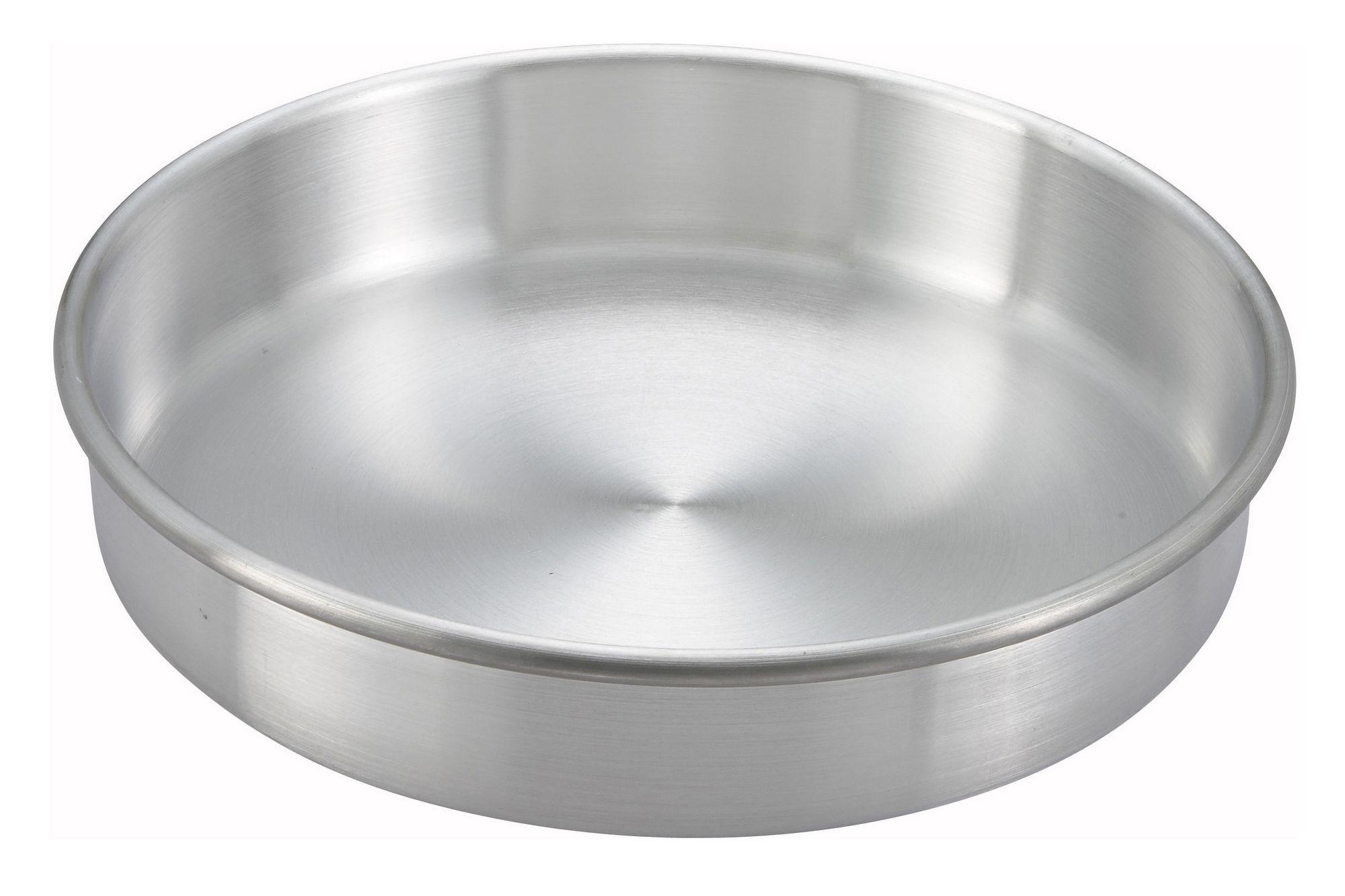"Winco ACP-102 Aluminum Layer Cake Pan 10"" x 2"""