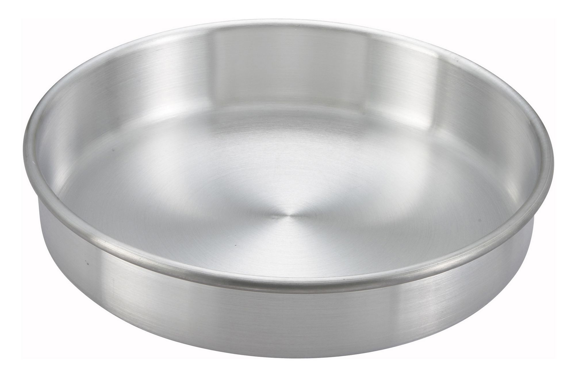 "Winco acp-103 Aluminum Layer Cake Pan 10"" x 3"""