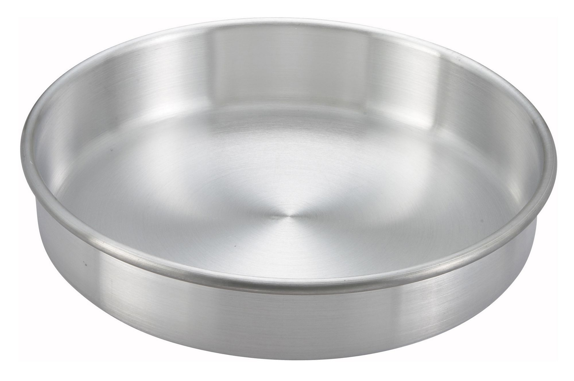 "Winco ACP-082 Aluminum Layer Cake Pan 8"" x 2"""