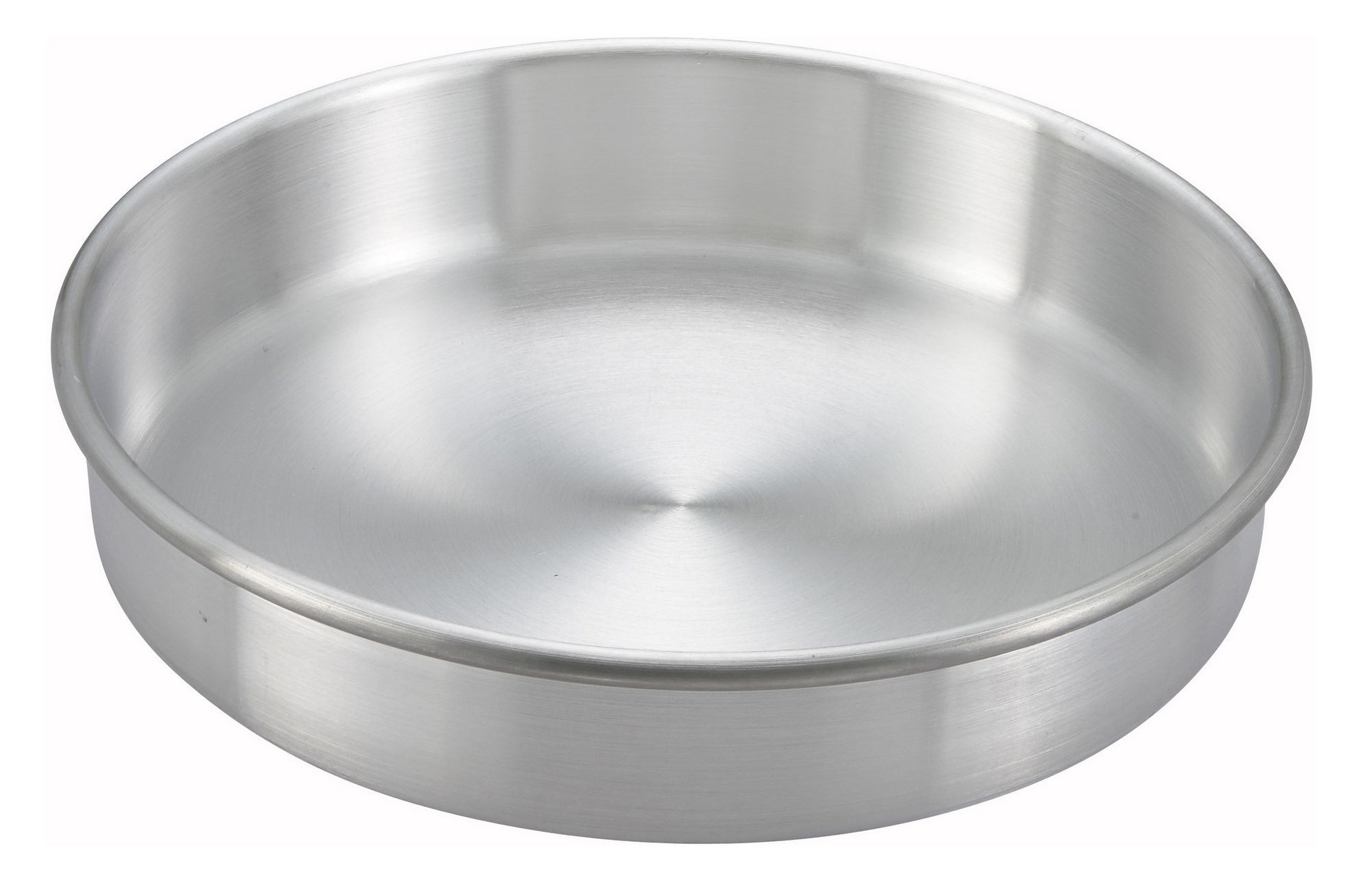 "Winco ACP-092 Aluminum Layer Cake Pan 9"" x 2"""