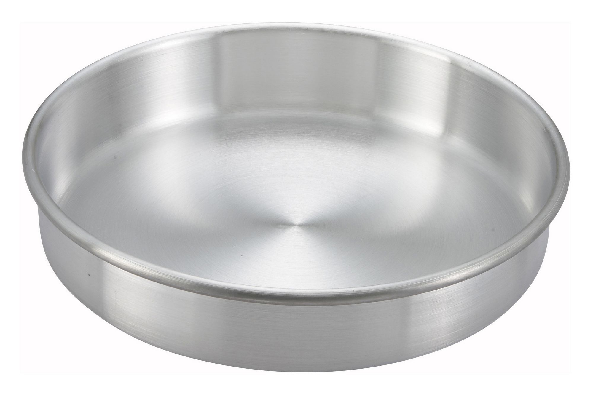 "Winco ACP-093 Aluminum Layer Cake Pan 9"" x 3"""