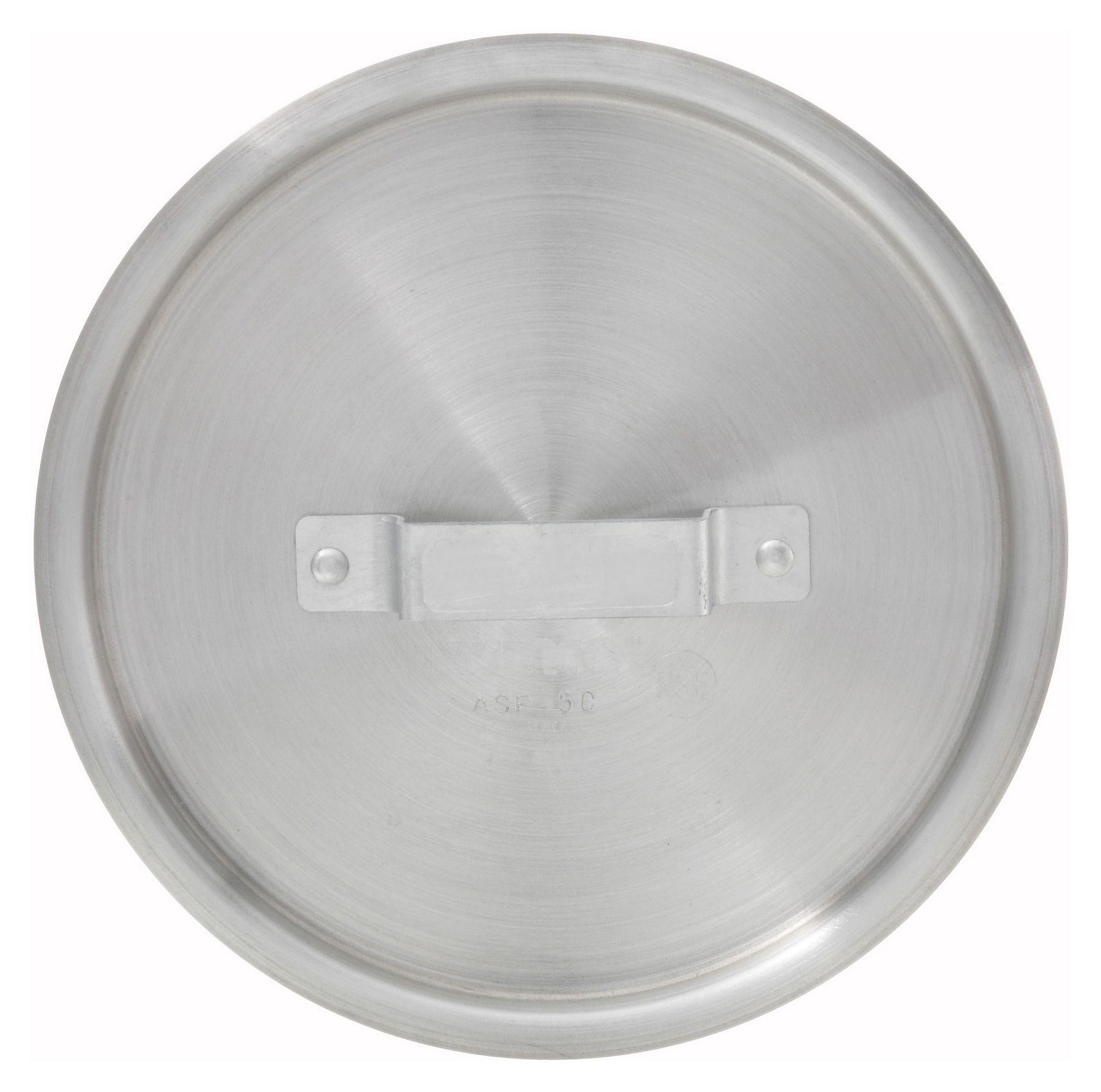 Winco ASP-4C Aluminum Cover for 4-1/4 Qt. Sauce Pan