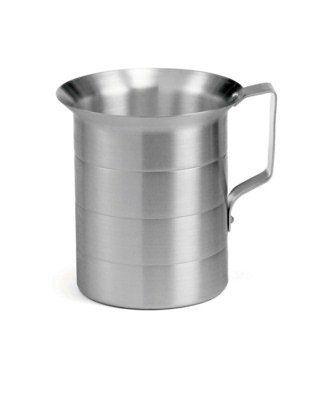 Aluminum Oz/Liters Graduated Measuring Cup - 1/2 Quart