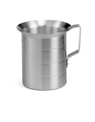 Aluminum Oz/Liters Graduated Measuring Cup - 2 Quarts