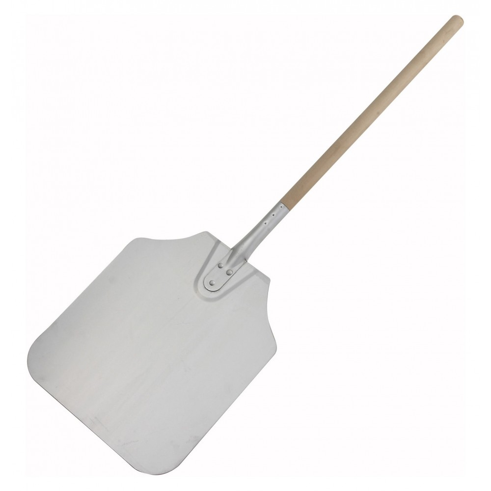 "Winco app-36 Aluminum Pizza Peel with 12"" x 14"" Blade 36"" OL"