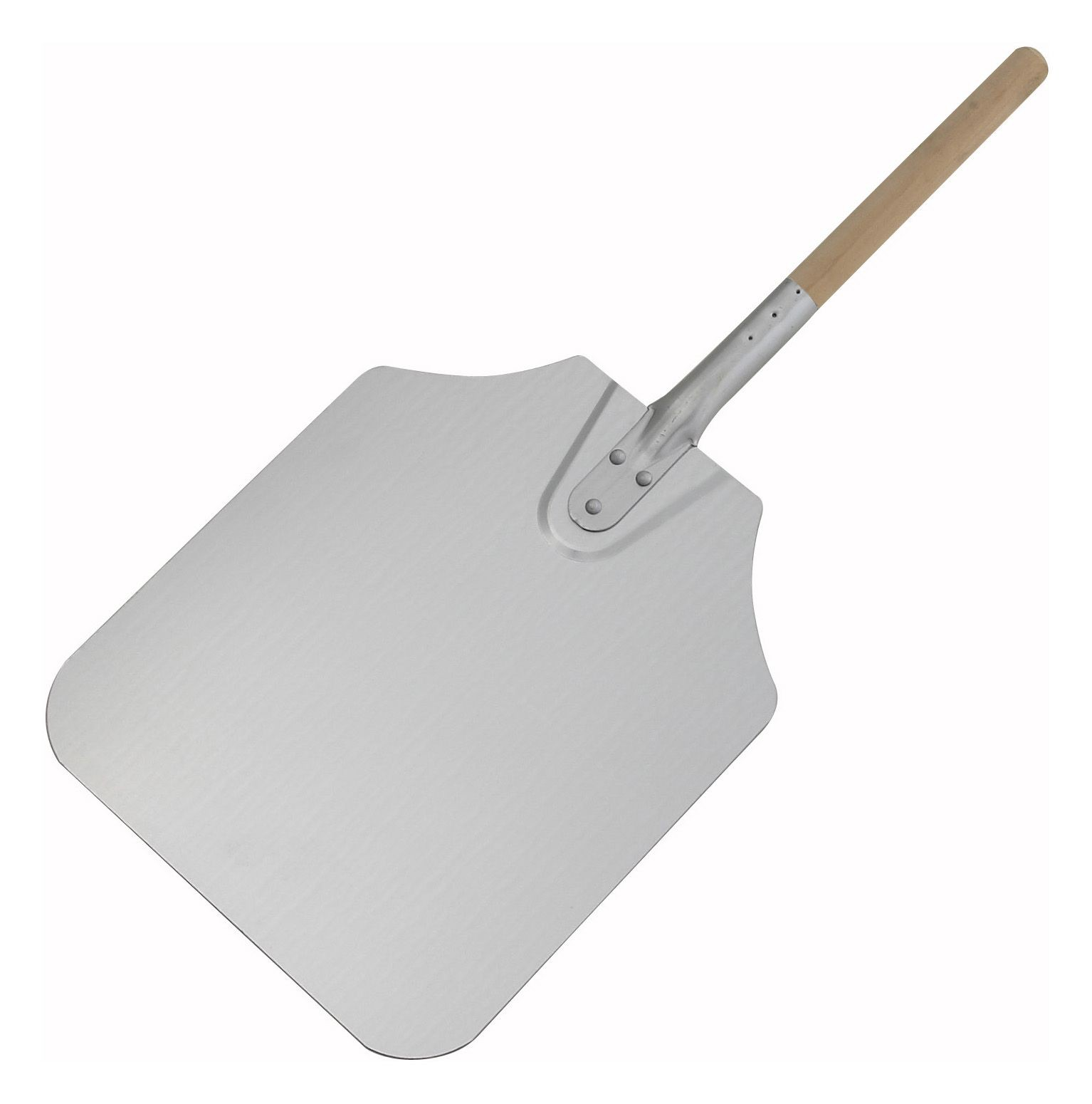 "Winco APP-26 Aluminum Pizza Peel with 12"" x 14"" Blade 26"" OL"