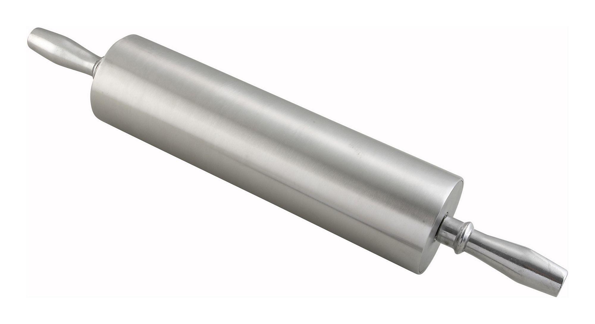 """Winco ARP-13 Aluminum Rolling Pin, 13"""""""