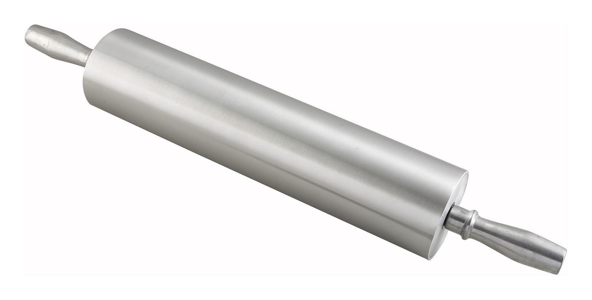 """Winco ARP-15 Aluminum Rolling Pin, 15"""""""