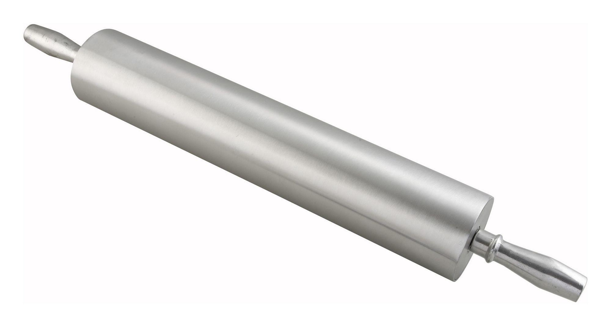 """Winco ARP-18 Aluminum Rolling Pin, 18"""""""