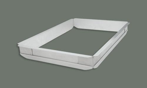 Aluminum Sheet Pan Extender (Quarter-Size)