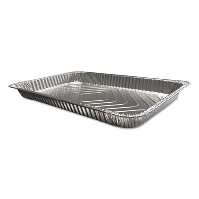 Aluminum Steam Table Pans, Full Size, Shallow, 50/Carton