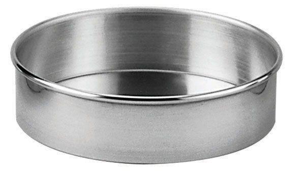 Aluminum Straight-Sided Round Cake Pan - 6