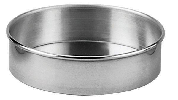 "Johnson-Rose 63408 Aluminum Cake Pan 8"" Dia. x 2""H"