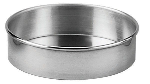 Aluminum Straight-Sided Round Cake Pan - 14