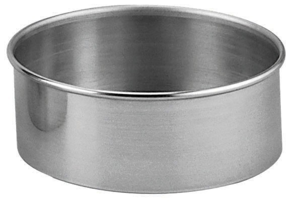 Aluminum Straight-Sided Round Cake Pan - 12