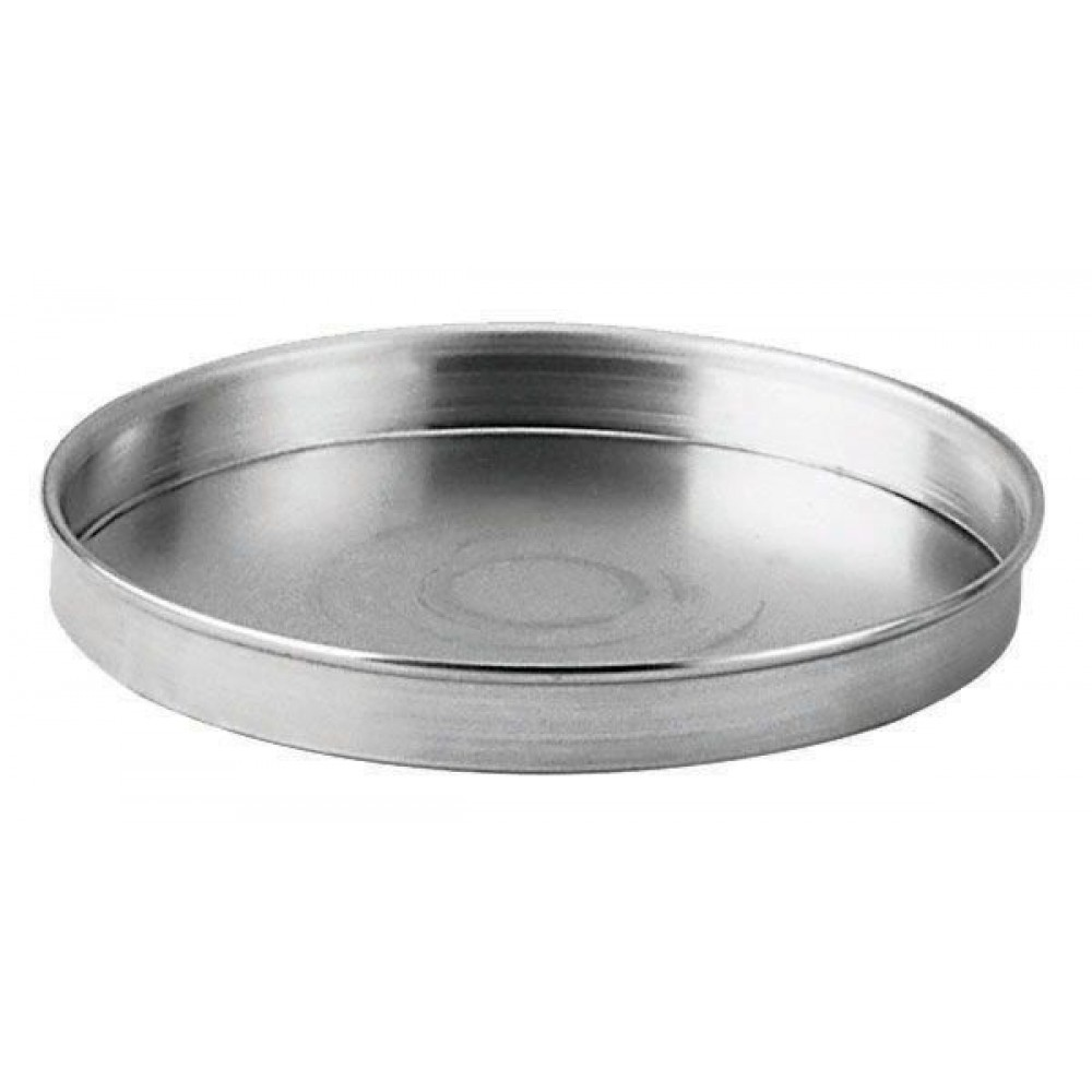 Aluminum Straight-Sided Round Pizza/Cake Pan - 6