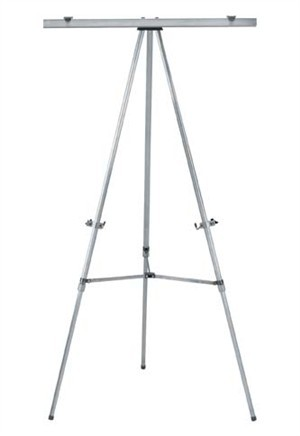Aarco Products AE66T Aluminum Telescopic Display Easel without Clamp