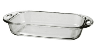 Anchor Hocking 81989L11 Premium 3 Qt. Glass Baking Dish