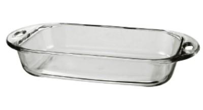 Anchor Hocking 81989L11 Premium 3 Qt. Glass Baking Dish
