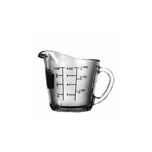Anchor Hocking 55175OL11  8 oz. Glass Measuring Cup