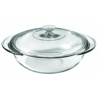 Anchor Hocking 81932OBL11 Oven Basics 2 Qt. Casserole Dish with Cover