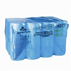 Angel Soft Premium Two Ply Coreless Bathroom Tissue, 750 Sheets