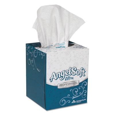 Angel Soft Ultra Premium Facial Tissue, 2-Ply, 96 Sheets/Box, 36 Boxes/Carton