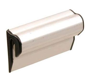 "Franklin Machine Products  133-1333 Anodized Aluminum Clip Strip Paper Holder 3"""