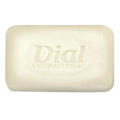 Antibacterial Deodorant Bar Soap, Unwrapped, White, 1.5 oz