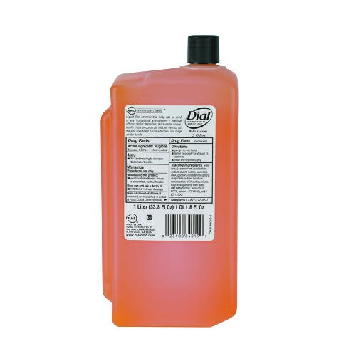 Antimicrobial Gold Liquid Soap Bottle, 1 Liter