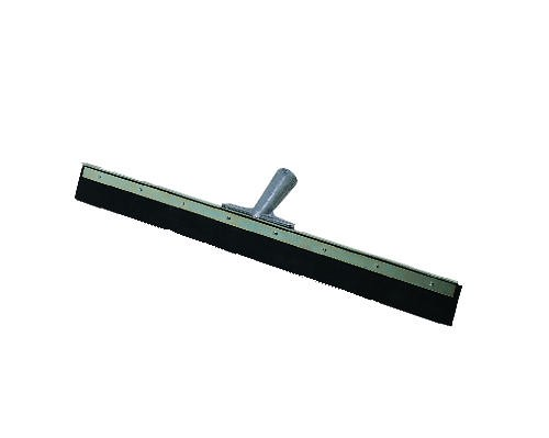 AquaDozer Eco Floor Squeegee, 24 Inch Wide Blade, Black Rubber, Straight