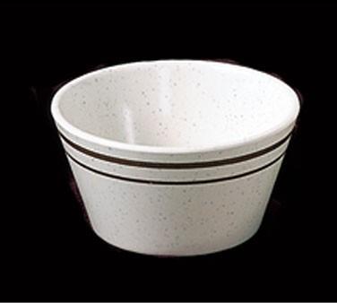 Arcadia Melamine 8 Oz. Bouillon Cup - 4