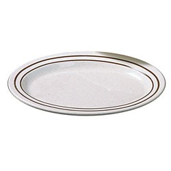 Arcadia Melamine Oval Platter - 12