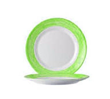 "Cardinal 49142 Arcoroc Brushed Green Side Plate 7-1/2"" Dia."