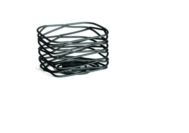 """TableCraft BK156 Artisan Metal Black Sugar Packet Holder 3"""" x 2-1/2"""""""