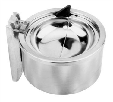 Franklin Machine Products  141-1121 Ash Tray (4.25Dia, Wall Mt, Cp )