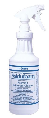 Asidufoam Heavy-Duty Bathroom Cleaner 32 Oz Spray Bottle