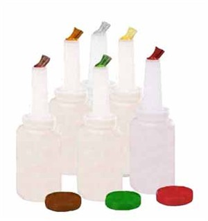 Assorted Pourmaster Polyethylene Half-Gallon Complete Unit