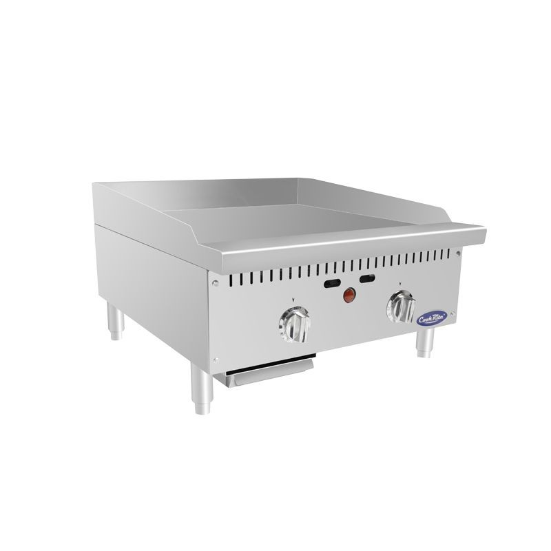 """Atosa ATMG-24T HD 24"""" Thermostatically Controlled Heavy Duty Commercial Griddle"""