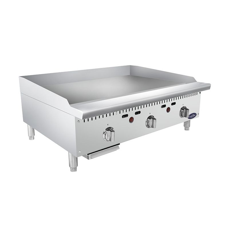"Atosa ATMG-36T HD 36"" Thermostatically Controlled Heavy Duty Commercial Griddle"