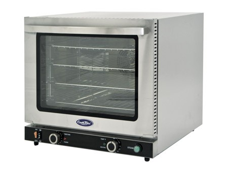 Atosa CRCC-50S Half Size Countertop Convection Oven with Broiler and Steam Injection