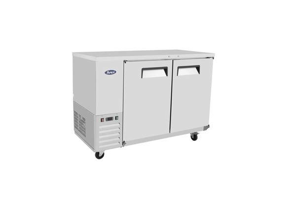 """Atosa MBB59-GR Stainless Steel Back Bar Cooler 59"""""""