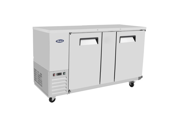 """Atosa MBB69-GR Stainless Steel Back Bar Cooler 69"""""""