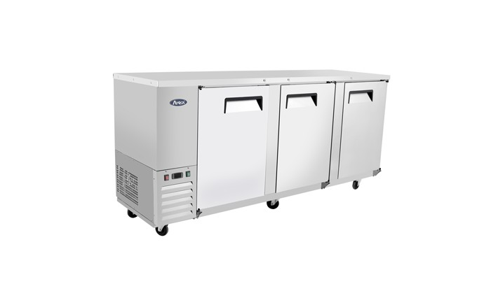 Atosa MBB90-GR Stainless Steel Back Bar Cooler 90""