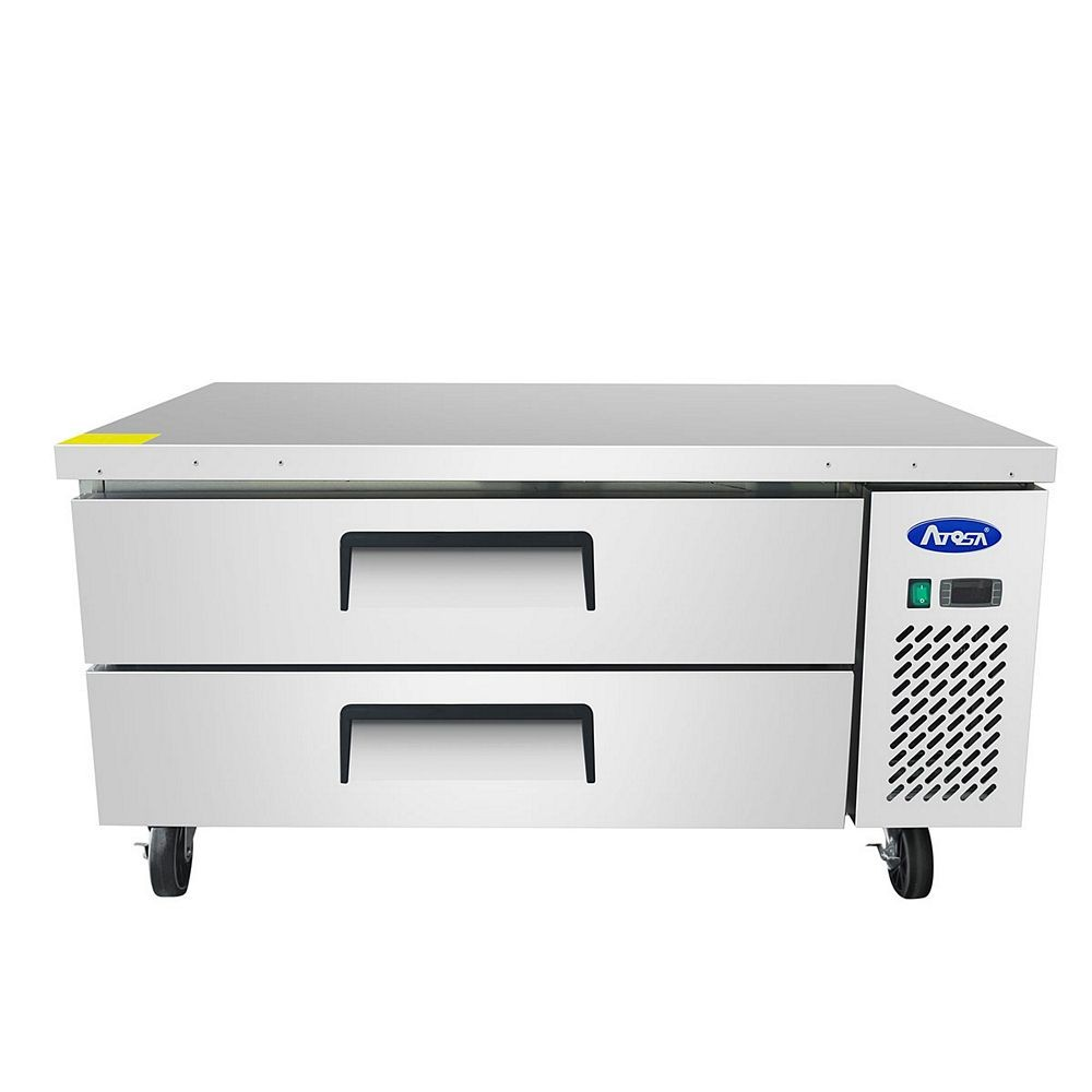 "Atosa MGF8450 48"" Refrigerated Chef Base"