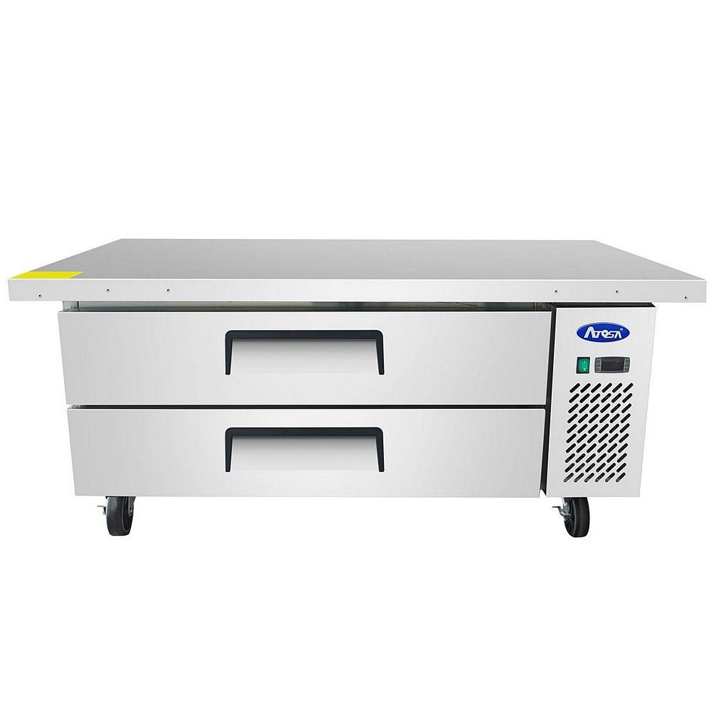 "Atosa MGF8452GR 60"" Refrigerated Chef Base"